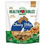Nylabone Healthy Edibles Chewy Bites Peanut Butter Flavor 6 oz