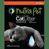 Nutra Pet Cat Litter Silica Gel 3.8L-Lavender ( Pack of 8) 30.4 L