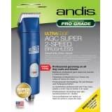 Andis Ultraedge AGC Super 2-Speed Brushless Detachable Blade Clipper - Blue
