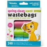 Petkin Spring Clean Waste Bags - 240ct