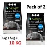 Nutrapet Marsiella Soap White Compact Cat Litter 5KG - (Pack of 2)