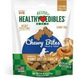 Nylabone Healthy Edibles Grain Free Chewy Bites Peanut Butter Flavor