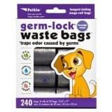 Petkin Germ-Lock Waste Bags Lavender - 240ct