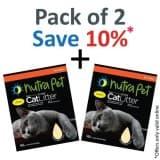 Nutrapet Cat Litter Silica Gel 16L- Lemon Scent - PACK OF 2