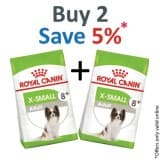 Royal Canin Size Health Nutrition XS Adult 8+ 1.5 KG - PACK OF 2