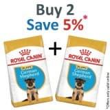 Royal Canin Breed Health Nutrition German Shepherd Puppy 12 KG - Pack of 2