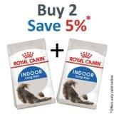Royal Canin Feline Health Nutrition Indoor LONG HAIR 2 KG - PACK OF 2