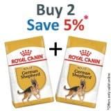 Royal Canin Breed Health Nutrition German Shepherd Adult 11 KG- PACK OF 2