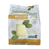 Sustainably Yours Natural Cat Litter Large Grains - 13lb/6 Kgs