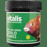 Vitalis Rift Lake Cichlid Flakes - Green 250g