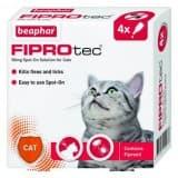 BEAPHAR FIPROTEC FOR CAT - 4 PIPETTES