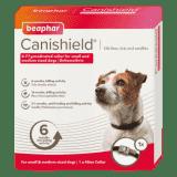 BEAPHAR CANISHIELD FLEA & TICK COLLAR (DELTAMETHRIN) - SMALL & MEDIUM DOGS