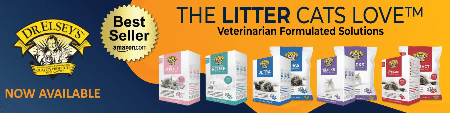 The BEST in cat litter!